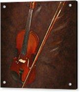 Artist's Violin Acrylic Print