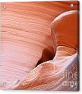 Artwork In Progress - Antelope Canyon Az Acrylic Print