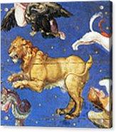 Artwork In Villa Farnese, Italy Acrylic Print by Photo Researchers