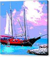 Aruba Adventure Acrylic Print