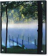 As The Lake Awakens Acrylic Print