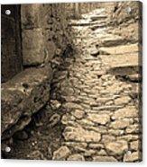 Ascent In Beynac France Acrylic Print