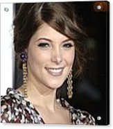 Ashley Greene At Arrivals For Premiere Acrylic Print