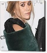 Ashley Olsen At Arrivals For The Acrylic Print