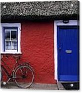 Askeaton, Co Limerick, Ireland, Bicycle Acrylic Print