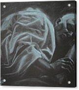 Asleep At The Mount Of Transfiguration Acrylic Print