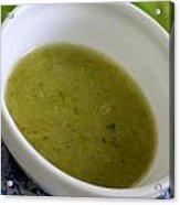 Asparagus Soup Acrylic Print