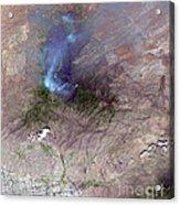 Aspen Fire, Arizona Acrylic Print