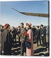 Assassination Of President Kennedy Acrylic Print