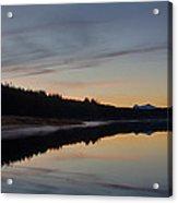 Assynt Reflections Acrylic Print