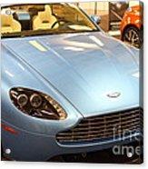 Aston Martin Db9 Convertible . 7d9622 Acrylic Print