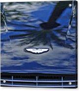 Aston Martin Hood 2 Acrylic Print