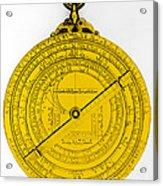 Astrolabe Acrylic Print by Omikron