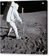Astronaut During Apollo 11 Acrylic Print