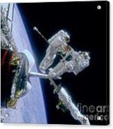 Astronauts Acrylic Print