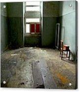 Asylum Room Acrylic Print