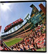 At And T The Stadium Acrylic Print
