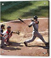 At Bat Acrylic Print