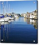 At Fisherman's Wharf Acrylic Print