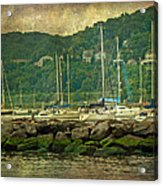 At Home In The Harbor - Atlantic Highlands  Nj Acrylic Print