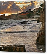 At The Edge Of The World Acrylic Print