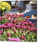 At The Farm Stand Acrylic Print