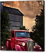 At The Grain Elevator Acrylic Print
