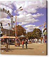 At The Prater - Vienna Acrylic Print