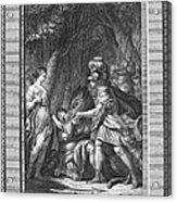 Atalanta And Meleager Acrylic Print
