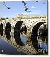 Atcham Bridge Acrylic Print