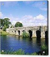 Athboy, Co Meath, Ireland Bridge Acrylic Print