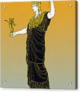 Athena, Greek Goddess Acrylic Print by Photo Researchers