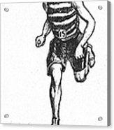 Athletics: Runner, C1900 Acrylic Print