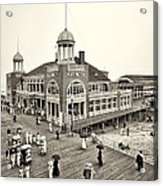 Atlantic City Steel Pier 1910 Acrylic Print