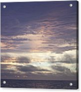 Atlantic Ocean Sunrise 1 Acrylic Print