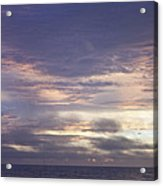 Atlantic Ocean Sunrise 2 Acrylic Print