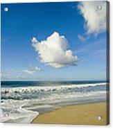 Atlantic Ocean Waves Break On The Beach Acrylic Print
