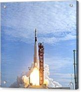 Atlas Agena Target Vehicle Liftoff Acrylic Print