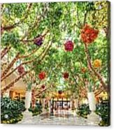 Atrium At The Wynn 2 Acrylic Print
