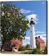 Au Sable Lighthouse 9 Acrylic Print