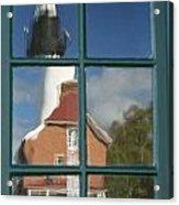 Au Sable Lighthouse Abstract 1 Acrylic Print