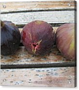 Figs On A Table  Acrylic Print