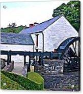 Auld Mill  Acrylic Print