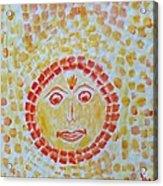 Aum Aadityay Namah Acrylic Print
