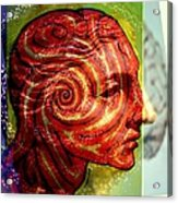 Auspicious Movement Of The Evolution Acrylic Print by Paulo Zerbato