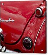 Austin-healey Tail Light And Emblem Acrylic Print