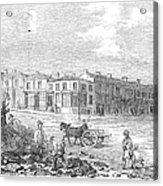 Australia: Melbourne, 1853 Acrylic Print