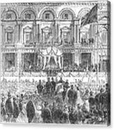 Australia: Melbourne, 1863 Acrylic Print
