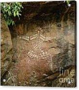 Indiginous Aboriginal Art 4 Acrylic Print