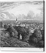 Austria: Baaden, 1822 Acrylic Print